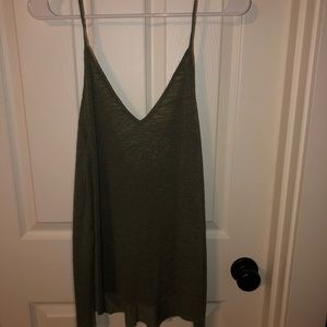 Project Social T Army Green Tank Top!!
